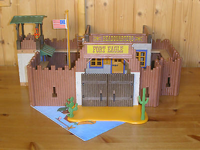 """Lote Playmobil Oeste / Western : """" Fort Eagle """""""