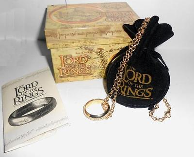 Lord of the Rings The One Ring 24k Gold Plated 21mm