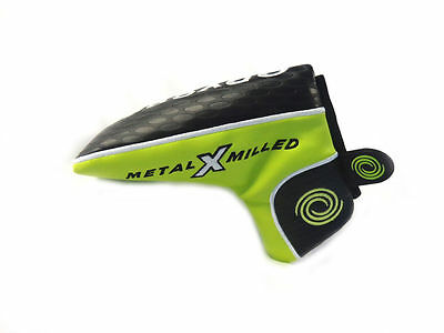 NEW Odyssey Metal X Milled Magnetic Blade Boot Putter Headcover