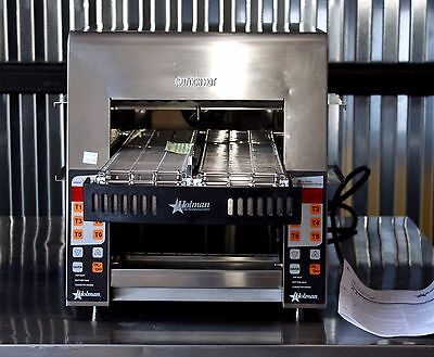 Holman / Star IRCS2-SBW Commercial Radiant Electronic Conveyor Toaster NEW