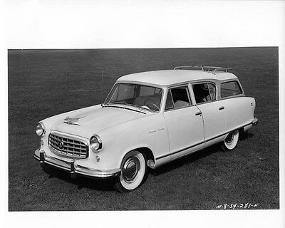 1955 Hudson Rambler ORIGINAL Factory Photo oae1433