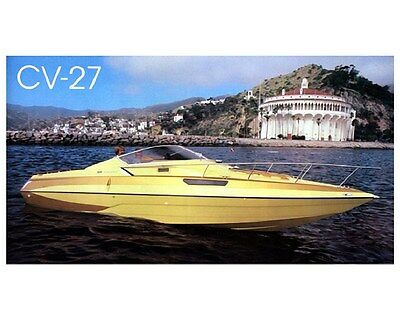 1981 Glastron Carlson CV-27 Power Boat Factory Photo ud4251