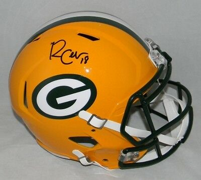 Randall Cobb Signed Autographed Green Bay Packers Full Size Speed Helmet Jsa