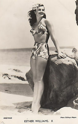 Esther Williams Old MGM Official Vintage Portrait Photo