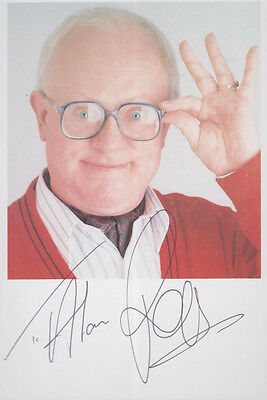 Ken Morley Coronation Street Undedicated Hand Signed Cast Photo