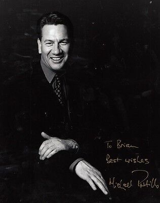Michael Portillo Former Conservative Deputy Prime Minister Big Hand Signed Photo