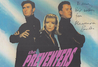 Morwenna Banks in The Preventers TV Movie Hand Signed Photo Publicity Card