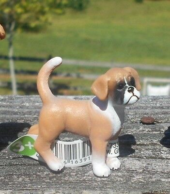 BOXER FAMILY by Schleich; NEW 2013/toy/dogs/bull dog/boxers