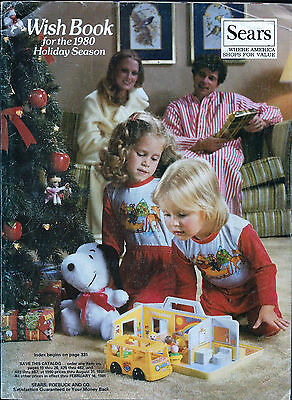 Sears Wish Book For The 1980 Season Christmas Catalog