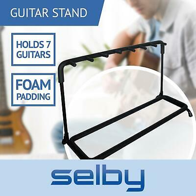 Guitar Rack Stand for 7 Guitars Electric Acoustic Bass