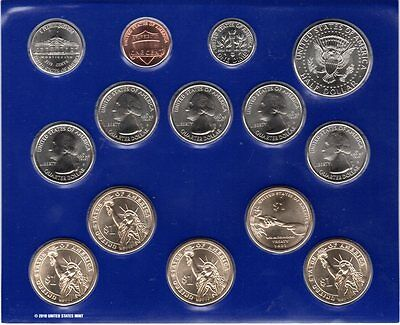 United States 2011 Mint Set 14 (Philadelphia) Uncirculated Coins