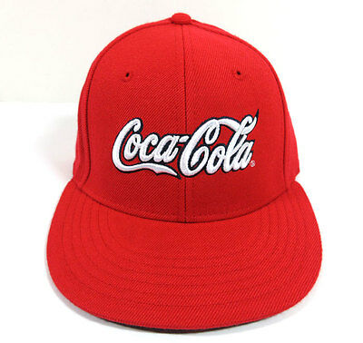 Coca-Cola Las Vegas Bullpen Closer Fitted Hat - Red L/xl - New - 100% Authentic