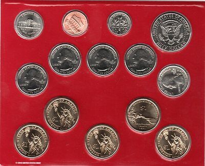 United States 2011 Mint Set 14 (Denver) Uncirculated Coins