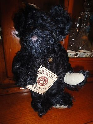 """""""BLUEBERRY"""" THE BOYDS COLLECTION TEDDY BEAR 10 inches"""
