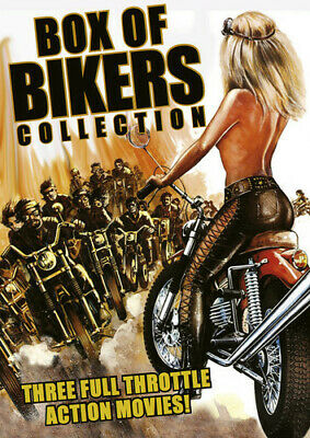 Box of Bikers Collection [3 Discs] (2014, REGION 1 DVD New)