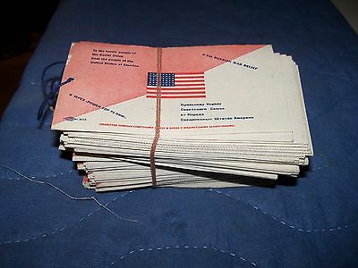 100 Us Russian Front Soviet Union War Relief Gift Tags Anti German Nazi Wwii