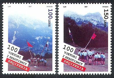 Albania 2007 Europa/Scouts/Scouting/Mountains 2v set (n35450)