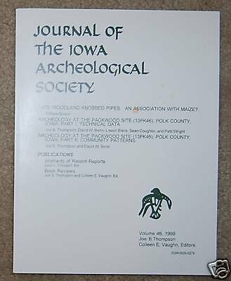 Iowa Archaeological Society Journal-Volume 46-1999