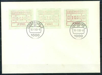 16-11-05447 - Luxembourg 1983 Mi.  1 FDC 100% ATM. FDC LUXEMBOURG 2.