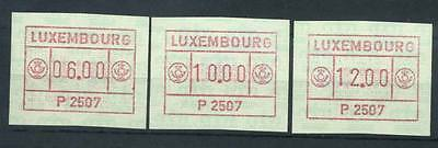 16-11-05463 - Luxembourg 1983 Mi.  1 MNH 100% ATM. P 2507