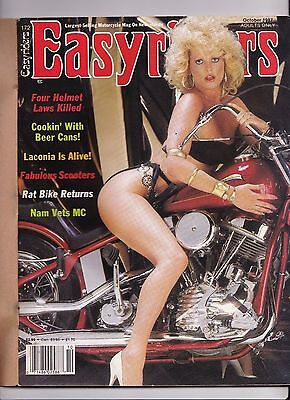 Easyriders Motorcycle Magazine OCTOBER 1987 OCT