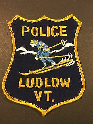 Ludlow Vermont Police  Shoulder Patch