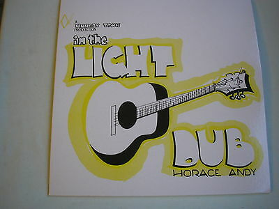HORACE ANDY In The Light Dub UK  LP 2016 new mint