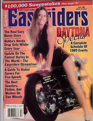 Easyriders Motorcycle Magazine APRIL 1989 APR