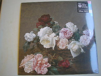 NEW ORDER Power Corruption & Lies UK LP 2015 new mint sealed 180g +download code