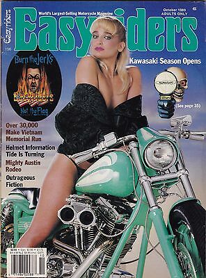 Easyriders Motorcycle Magazine OCTOBER 1989 OCT
