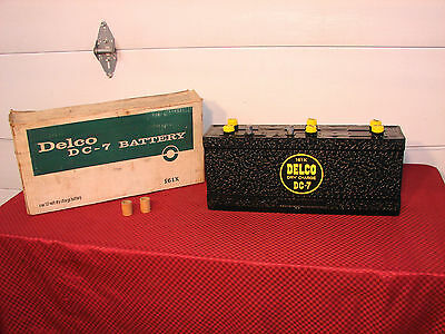 53-56 Cadillac 53 Oldsmobile 53-58  Buick Nos Dc-7 161X Delco Battery