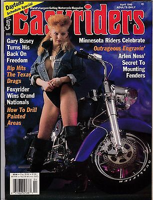 Easyriders Motorcycle Magazine APRIL 1990 APR