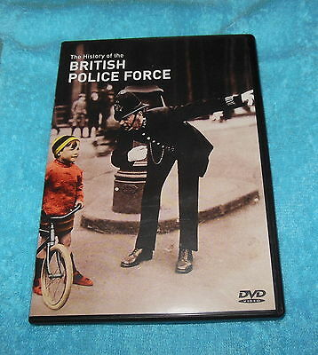 The History of the British Police Force Rare Documentary dvd