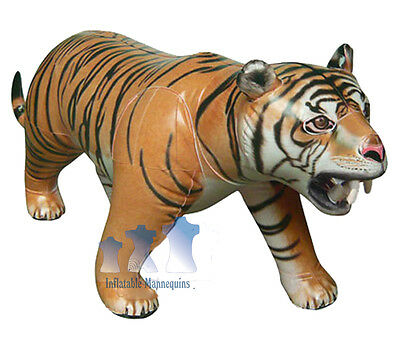 Inflatable Tiger, Extra-Large