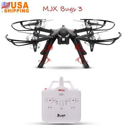 Cool MJX Bugs Drone 3 Standard Quadcopter 2.4G 4CH 6-Axis RTF Support Camera USA