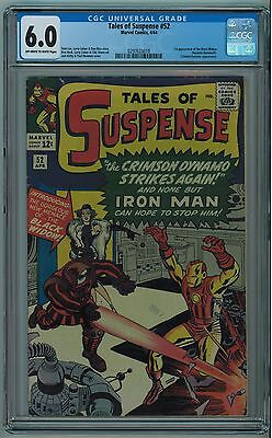 Tales Of Suspense #52 Cgc 6.0 1St Black Widow Off-White To White Pages 1964