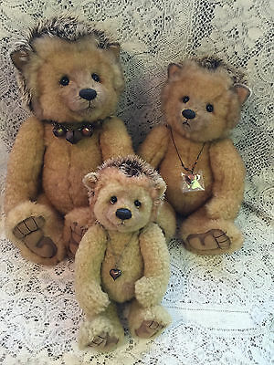 Charlie Bears Hedgehogs Prickle Spike Ouch 2013 Isabelle Mohair Free US Shipping