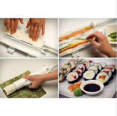 Sushi Roll Maker Kit Sushi Rice Roller Mold Mould Chef Kitchen Sushi  DIY Tool
