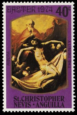 """ST. KITTS-NEVIS 282 (SG298) - Easter """"The Trinity"""" by Diego Ribera (pa61174)"""