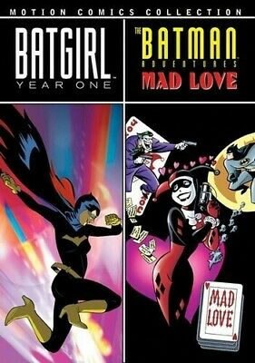 Batgirl: Year One/The Batman Adventures: Mad L (2010, REGION 0 DVD New) DVD-R/WS