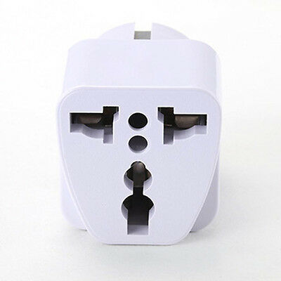 New US USA To Euro Conversion Plug Adapter American European Outlet Converter