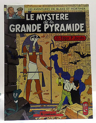 ➡ LOMBARD ☆ Blake & Mortimer T 4 Pyramide 1 ☆ Jacobs 1977 ☆ TBE ☰