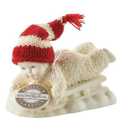 Snowbabies Department 56 Hold On Tight Figurine New Boxed 4050070