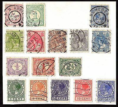 Stamps ~ NETHERLANDS Dutch HOLLAND ~ MIXED Unsorted Early