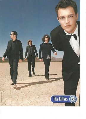 The Killers, Full Page Pinup