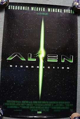 Alien Resurrection (1997) US Double Sided Movie Poster 27 x 40 inches