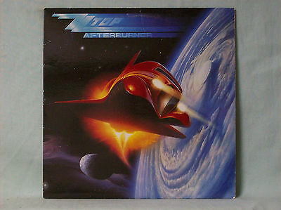 ZZ TOP - AFTERBURNER (25342) VG+ condition  AWESOME ALBUM