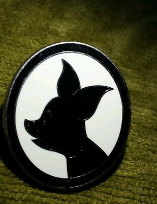Disney's 2009 Piglet from Winnie the Pooh Hidden Mickey Silhouette Pin