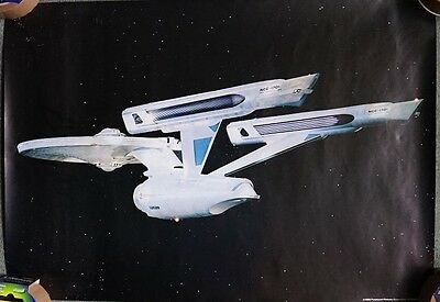 Star Trek The Motion Picture 1979 UK Mini Poster Original USS Enterprise 73 x 45