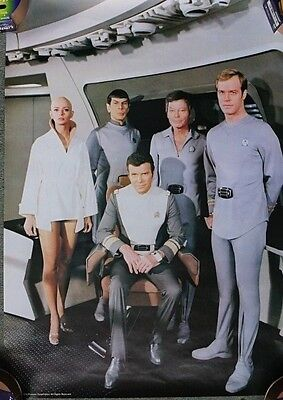 Star Trek The Motion Picture 1979 UK Mini Poster Original The Crew 73 x 45